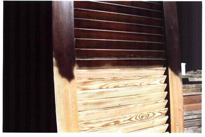 Eco sverniciatura legno