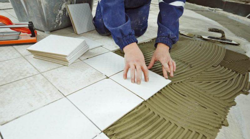 Posa di pavimenti e rivestimenti