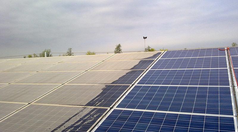 Lavaggio pannelli fotovoltaici e solari