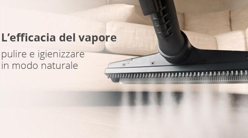 Igienizzazione e sanificazione a vapore