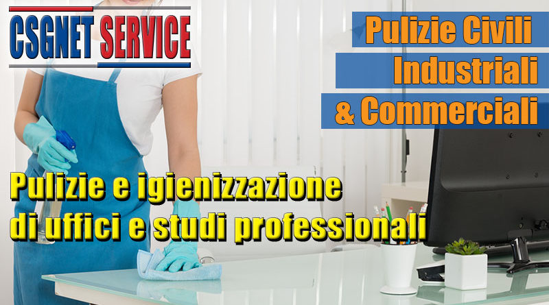 Pulizie uffici e studi professionali