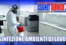 Sanificazione e Disinfezione ambienti di lavoro