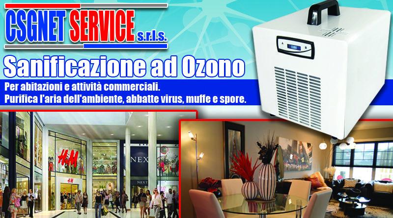 Sanificazione ambienti con ozono