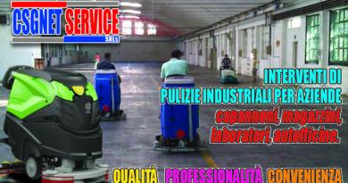 Lavaggio meccanizzato pavimenti industriali